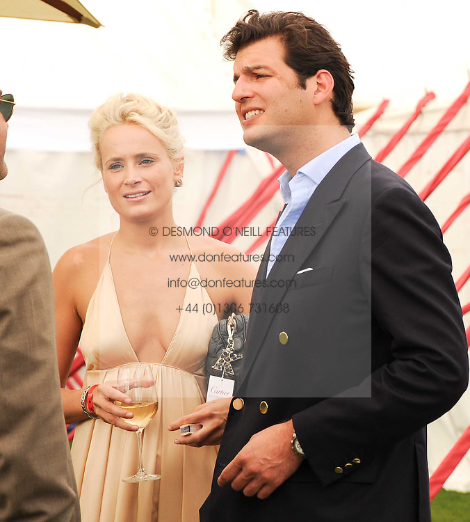 KALITA AL-SWAIDI and PRINCE CASIMER SAYN-WITTGENSTEIN at the Cartier International Polo at Guards Polo Club, Windsor Great Park, Berkshire on 25th July 2010.
