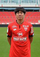 Chang Hoon KWON during photoshooting of Dijon FCO for new season 2017/2018 on September 11, 2017 in Dijon, France. (Photo by Vincent Poyer/Icon Sport)