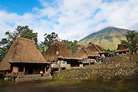 Indonesie. Flores. Pays Ngada. Village de Nage. Region de Bajawa.// Indonesia. Flores. Ngada country, village of Nage. Bajawa area.