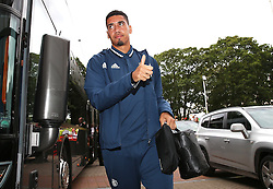 Chris Smalling of Manchester United arrives at the KC Stadium - Mandatory by-line: Matt McNulty/JMP - 27/08/2016 - FOOTBALL - KC Stadium - Hull, England - Hull City v Manchester United - Premier League
