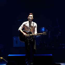 London, UK - 9 October 2012: Paul Freeman performs live at HMV Hammersmith Apollo as supporter to the Chris Isaak 'Beyond the sun' tour.