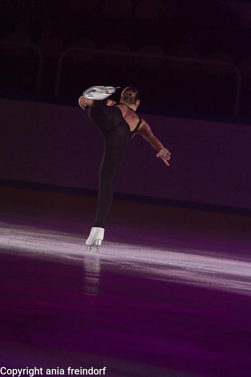 International Ice Skating Gala, Courchevel, France, 20 July 2017, Loana Hendrickx, Member of National Team, Belgium, Champion of Belgium, 7th in Championships of Europe 2017
