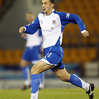 St Johnstone FC Season 2007-08<br /> Paul Sheerin<br /> Picture by Graeme Hart.<br /> Copyright Perthshire Picture Agency<br /> Tel: 01738 623350  Mobile: 07990 594431