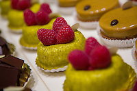 Paris, France - July 16, 2014: While perhaps most famous for his macarons, Pierre Hermé's pâtisserie in the  Saint Germain des Prés features a whole host of confections and pastriues that seem almost too beautiful to eat. CREDIT: Chris Carmichael for The New York Times