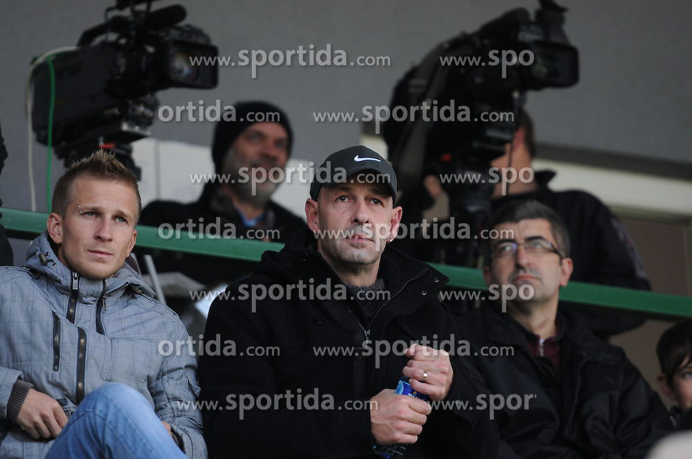 Joze Cinc before football match between NK Mura 05 and NK Domzale in 18th Round of Prva liga NZS 2012/13, on November 11, 2012 in Fazanerija, Slovenia. (Photo by Ales Cipot / Sportida).