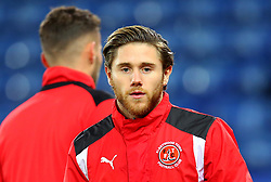Wes Burns of Fleetwood Town - Mandatory by-line: Robbie Stephenson/JMP - 16/01/2018 - FOOTBALL - King Power Stadium - Leicester, England - Leicester City v Fleetwood Town - Emirates FA Cup third round proper