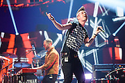 Bastille performing at the iHeartRadio Music Festival in Las Vegas, Nevada on Sepembter 20, 2014.