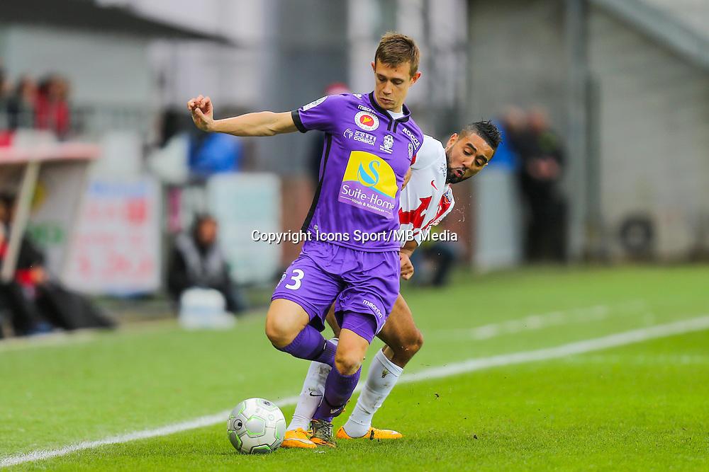 Paul BABILONI  - 20.12.2014 - Brest / Ajaccio - 18eme journee de Ligue 2 -<br /> Photo : Vincent Michel / Icon Sport