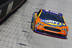 April 13, 2018 - Bristol, Tennessee, United States of America - April 13, 2018 - Bristol, Tennessee, USA: Ricky Stenhouse, Jr (17) bring his racecar down the backstretch during opening practice for the Food City 500 at Bristol Motor Speedway in Bristol, Tennessee. (Credit Image: © Chris Owens Asp Inc/ASP via ZUMA Wire)