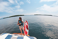 Bradley water sports session with Mike Morin on Lake Winnipesaukee.   Karen Bobotas Photographer.  © 2013 Karen Bobotas.