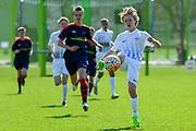 01.04.2017; Zuerich; <br /> Fussball FC Zuerich - FE15 Oberland - Red Star;<br /> Finn Knecht (Zuerich) <br /> (Andy Mueller/freshfocus)