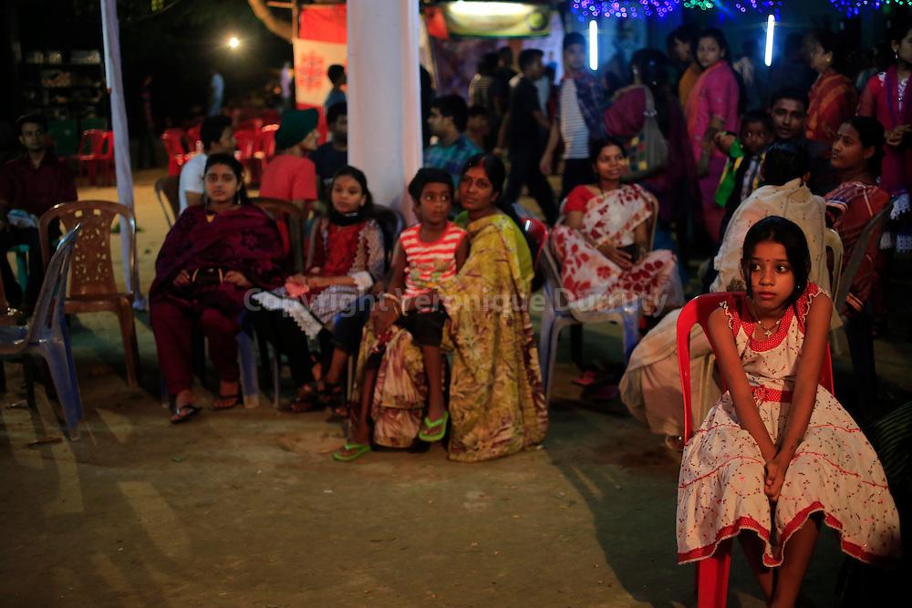 Durga festival,  Rajshahi, Bangladesh // fete de Durga, Rajhahi, Bangladesh