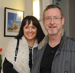 Pictured at the opening of  Westport&rsquo;s Rolling Sun Book Festival festival over the weekend were  Leonard Kelly and Gracia Gomez Kelly.<br /> Pic Conor McKeown