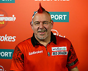 Peter Wright during the 2018 Players Championship Finals at Butlins Minehead, Minehead, United Kingdom on 23 November 2018.
