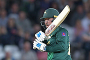 Brendan Taylor pulls a four during the NatWest T20 Blast Quarter Final match between Notts Outlaws and Somerset County Cricket Club at Trent Bridge, West Bridgford, United Kingdom on 24 August 2017. Photo by Simon Trafford.