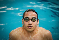 Jacob Limaldi of Toms River South is the Ocean County Swimmer of the Year. He is pictured at the Ocean County YMCA in Toms River on Monday, March 17, 2014. /Russ  DeSantis/For The Star Ledger