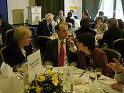Polly Toynbee and Andrew Marr, Political Studies Association Awards 2004. Institute of Directors, Pall Mall. London SW1. 30 November 2004.  ONE TIME USE ONLY - DO NOT ARCHIVE  © Copyright Photograph by Dafydd Jones 66 Stockwell Park Rd. London SW9 0DA Tel 020 7733 0108 www.dafjones.com