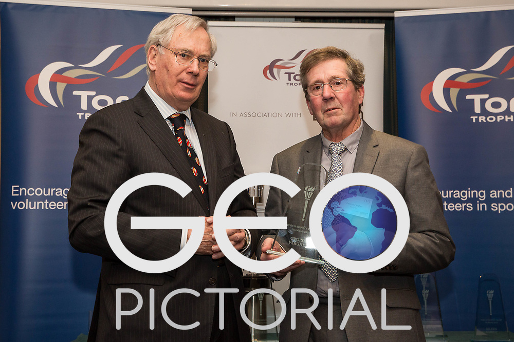 2018 Torch Trophy Trust Awards presented by HRH Duke of Gloucester at the Army & Navy Club in London on 7th March 2018;