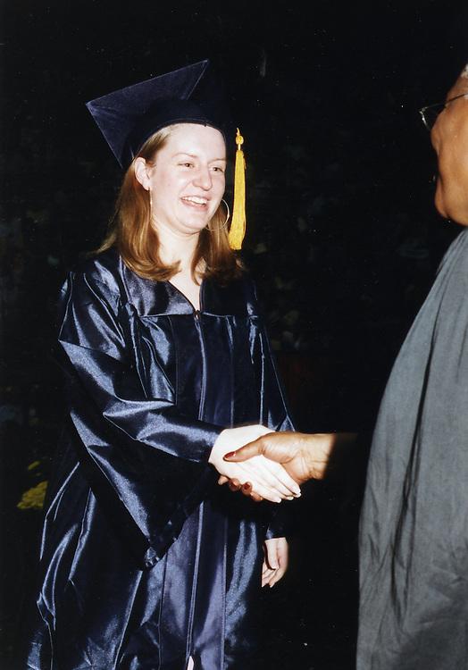 Caroline graduates from ETHS