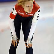 NLD/Heerenveen/20060122 - WK Sprint 2006, 2de 1000 meter dames, Annette Gerritsen