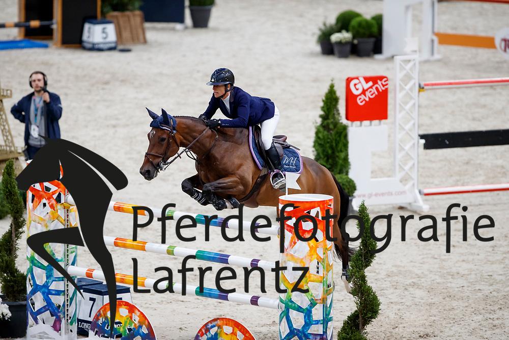 HECART Marie (FRA), Divine de la Roque<br /> Paris - FEI World Cup Finals 2018<br /> Grand Prix / Grosser Preis<br /> www.sportfotos-lafrentz.de/Stefan Lafrentz<br /> 15. April 2018