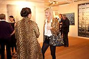 DELILAH KHOMO; BELLA BUCHANAN, Opening of ARTLondon 2010. Royal Hospital.  Royal Hospital Rd. London. 6 October 2010.  -DO NOT ARCHIVE-© Copyright Photograph by Dafydd Jones. 248 Clapham Rd. London SW9 0PZ. Tel 0207 820 0771. www.dafjones.com.