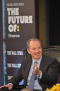 The WSJ The Future Of: Finance featuring James P. Gorman, CEO of Morgan Stanley in New York City on September 27, 2017. (photo by Gabe Palacio)