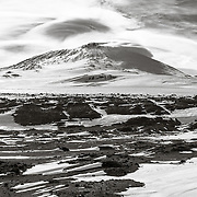 Mount Erebus from Windvane Hill, Cape Evans