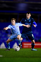 Ollie Clarke of Bristol Rovers marks Jamie Allen of Coventry City - Mandatory by-line: Ryan Hiscott/JMP - 14/01/2020 - FOOTBALL - St Andrews Stadium - Coventry, England - Coventry City v Bristol Rovers - Emirates FA Cup third round replay