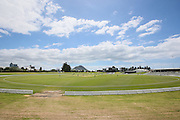 General view of Bay Oval during the 1st match of the New Zealand White Ferns v Australia, Rose Bowl ODI series played at Bay Oval, Mount Maunganui, New Zealand. Saturday 20 February 2016. Copyright Photo: Bruce Lim / www.photosport.nz