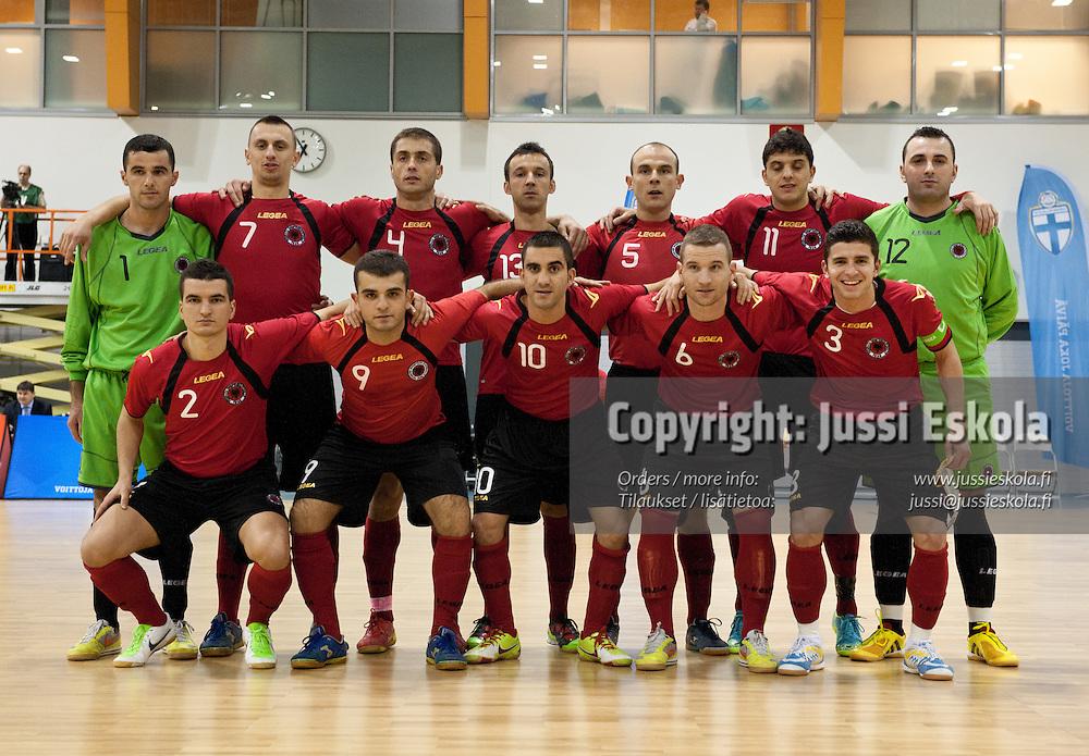 Suomi - Albania. Futsal. EM-alkukarsinta. Pirkkala, Tampere 20.1.2011. Photo: Jussi Eskola