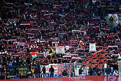 """Foto LaPresse/Filippo Rubin<br /> 08/11/2019 Reggio Emilia (Italia)<br /> Sport Calcio<br /> Sassuolo - Bologna - Campionato di calcio Serie A 2019/2020 - Stadio """"Mapei stadium""""<br /> Nella foto: I TIFOSI DEL BOLOGNA<br /> <br /> Photo LaPresse/Filippo Rubin<br /> November 08th, 2019 Reggio Emilia (Italy)<br /> Sport Soccer<br /> Sassuolo vs Bologna - Italian Football Championship League A 2019/2020 - Mapei Stadium<br /> In the pic: BOLOGNA SUPPORTERS"""