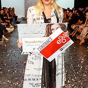 NLD/Amsterdam/20180416 - Finale 1e Curvy Supermodel 2018, winnares Isadee Jansen
