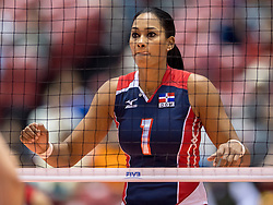 17-05-2016 JAP: OKT Dominicaanse Republiek - Italie, Tokio<br /> Italië verslaat Dominicaanse Republiek  met 3-0 / Annerys Victoria Vargas Valdez