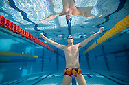 Dominik MEICHTRY of Switzerland is pictured during an under water photo session in the Buchholz pool in Uster, Switzerland, Sunday, Dec. 2, 2007. (Photo by Patrick B. Kraemer / MAGICPBK)