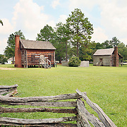 A view of the Historic Camden Revolutionary War Site in South Carolina. Camden, the oldest existing inland town in South Carolina, was part of a township plan ordered by King George II in 1730. The frontier settlement took hold by the 1750s, as settlers from Virginia put down roots. The town later became Camden, in honor of Lord Camden, champion of colonial rights. In May of 1780 Lord Charles Cornwallis and 2,500 British troops marched to Camden and set up the main British supply post for the Southern Campaign. The Battle of Camden, the worst American battle defeat of the Revolution, was fought on August 16, 1780.