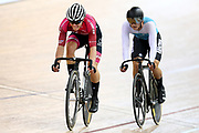 Corbin Strong and Campbell Stewart during the 2019 Vantage Elite and U19 Track Cycling National Championships at the Avantidrome in Cambridge, New Zealand on Sunday, 10 February 2019. ( Mandatory Photo Credit: Dianne Manson )