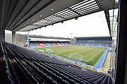 Ewood Park Pitch before the Sky Bet Championship match between Blackburn Rovers and Leeds United at Ewood Park, Blackburn, England on 12 March 2016. Photo by Mark Pollitt.