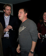 MATTHEW FREUD, Walkers' Do Us A Flavour - launch party , The 6 finalists of their campaign to find new crisp flavours announced. Flavours include' Chili and chocolate, fish and chips, Onion bhaji, crispy duck, cajun squirrel and builder's breakfast. . Paramount, Centre Point, London. 8 January 2009 *** Local Caption *** -DO NOT ARCHIVE -Copyright Photograph by Dafydd Jones. 248 Clapham Rd. London SW9 0PZ. Tel 0207 820 0771. www.dafjones.com<br /> MATTHEW FREUD, Walkers' Do Us A Flavour - launch party , The 6 finalists of their campaign to find new crisp flavours announced. Flavours include' Chili and chocolate, fish and chips, Onion bhaji, crispy duck, cajun squirrel and builder's breakfast. . Paramount, Centre Point, London. 8 January 2009