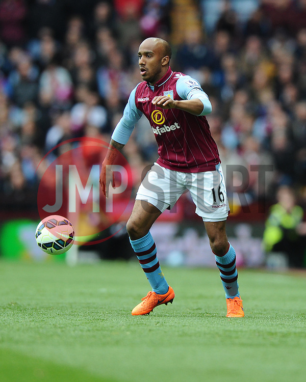 Aston Villa's Fabian Delph  - Photo mandatory by-line: Joe Meredith/JMP - Mobile: 07966 386802 - 09/05/2015 - SPORT - Football - Birmingham - Villa Park - Aston Villa v West Ham United - Barclays Premier League