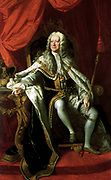 George II King of England, portrait by Thomas Hudson.