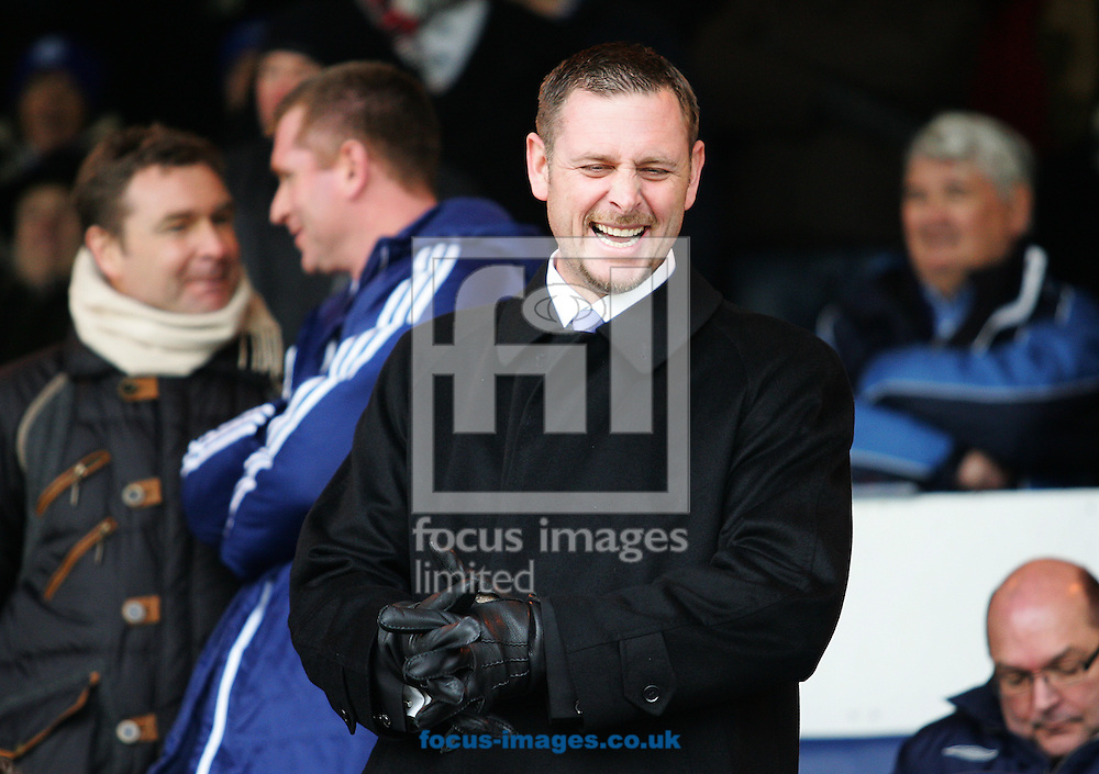 Picture by Rob Fisher/Focus Images Ltd +44 7545 398891.23/02/2013.Darragh MacAnthony, owner of Peterborough United before the npower Championship match against Birmingham City at London Road, Peterborough.