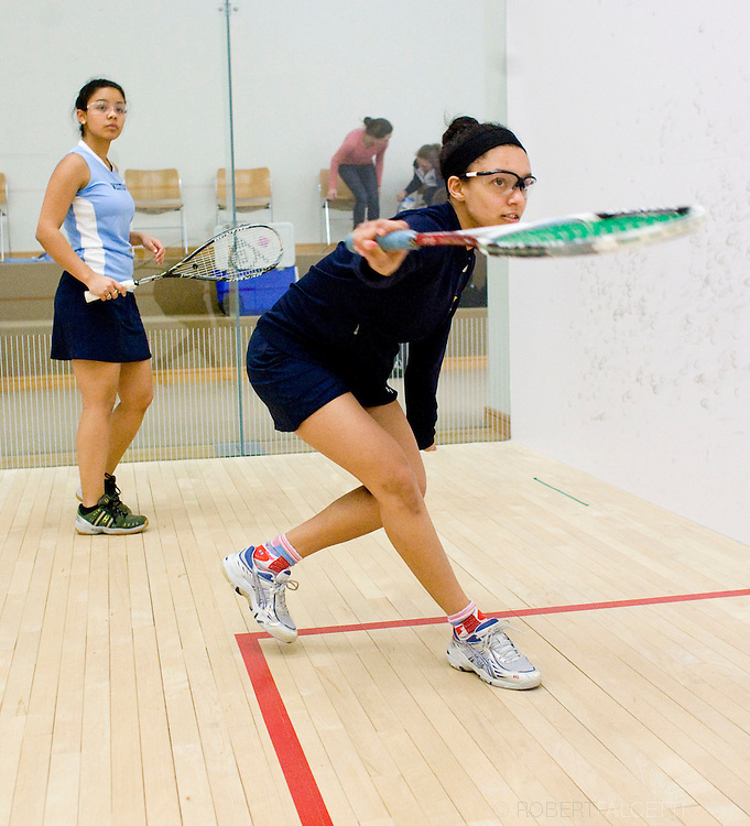 The Westover School, Middlebury, CT. 2011-2012. Squash.  (Photo by Robert Falcetti). .