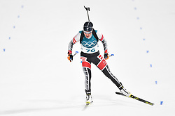 February 10, 2018 - Pyeongchang, South Korea - 180210 Dunja Zdouc of Austria competes in Women's Biathlon 7,5 km Sprint during day one of the 2018 Winter Olympics on February 10, 2018 in Pyeongchang..Photo: Petter Arvidson / BILDBYRN / kod PA / 87614 (Credit Image: © Petter Arvidson/Bildbyran via ZUMA Press)