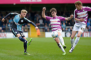 Wycombe Wanderers defender Jason McCarthy (22) during the Sky Bet League 2 match between Wycombe Wanderers and Barnet at Adams Park, High Wycombe, England on 16 April 2016. Photo by Dennis Goodwin.