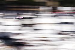 May 24, 2018 - Montecarlo, Monaco - 11 Sergio Perez from Mexico with Force India F1 VJM11  in the middle of the boats  during the Monaco Formula One Grand Prix  at Monaco on 24th of May, 2018 in Montecarlo, Monaco. (Credit Image: © Xavier Bonilla/NurPhoto via ZUMA Press)