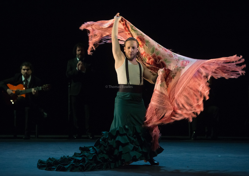 Compania Manuel Linan presents NOMADA at Sadler's Wells, as part of the Flamenco Festival London 2015.