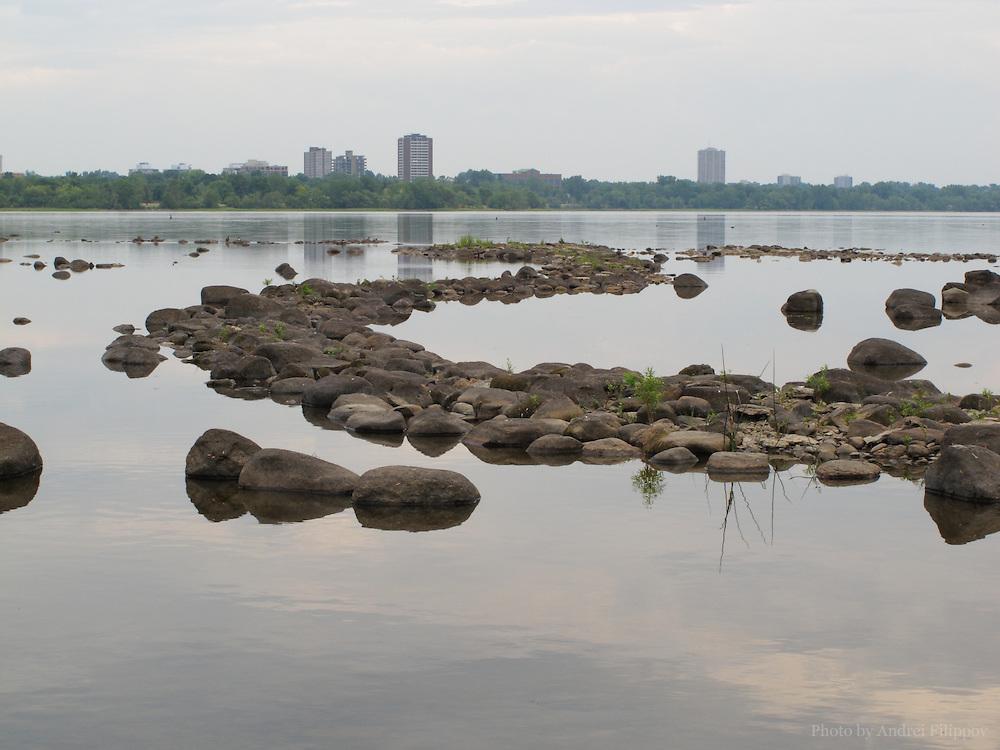 Ottawa River, Ontario, Canada.