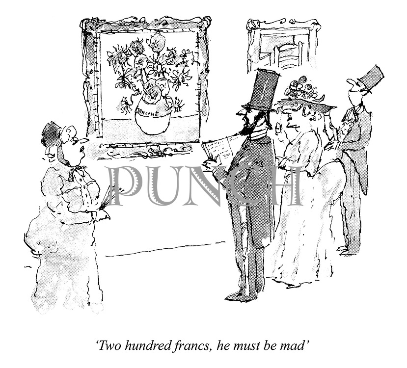 'Two hundred francs, he must be mad'
