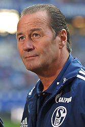02.10.2011,  Imtech Arena, Hamburg, GER, 1. FBL, Hamburger SV (GER) vs Schalke 04 (GER), im Bild Trainer Huub Stevens (Schalke) vor dem Spiel// during match at Imtech Arena 2011/10/02,Hamburg.EXPA Pictures © 2011, PhotoCredit: EXPA/ nph/  Witke       ****** out of GER / CRO  / BEL ******